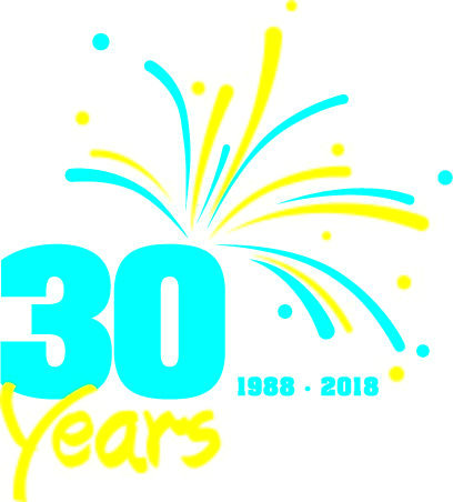 Club MAC 30th Birthday logo