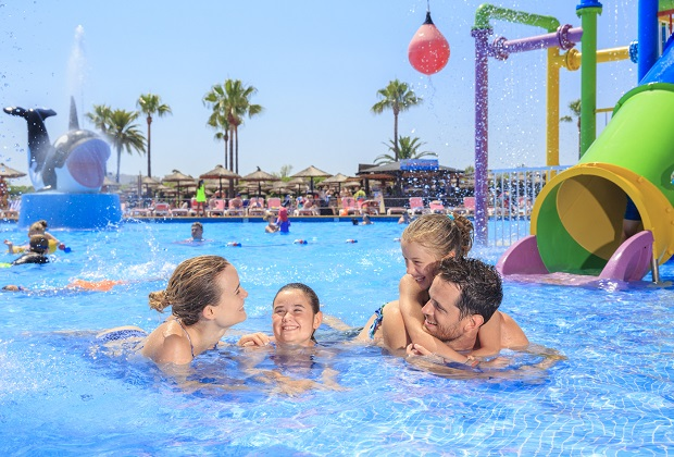 Making a splash at Club MAC Alcudia