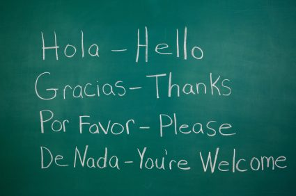 Holiday at club mac Spanish words